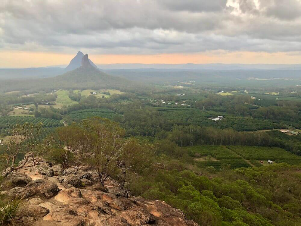 Glass House Mountains, Queensland: A fun place to go for a quick hike or even a fun scramble.