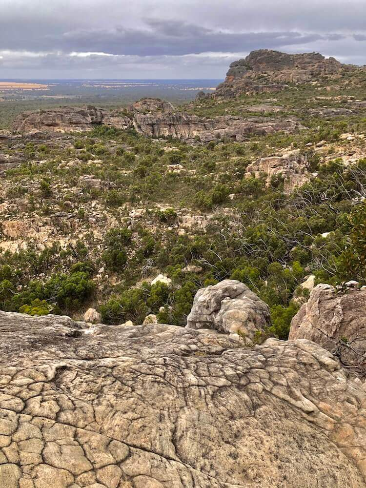 Grampians National Park, Victoria: The view from Mount Hollow