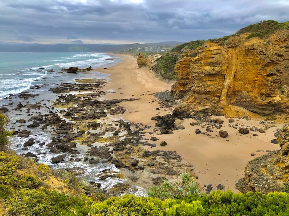 Great Ocean Road, Victoria: More of the coast