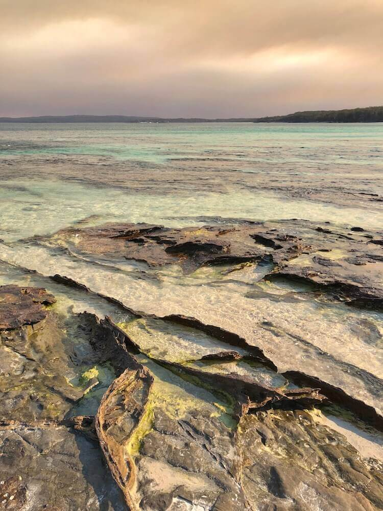 Jervis Bay, New South Wales: The Jervis Bay with some cool rock formation.