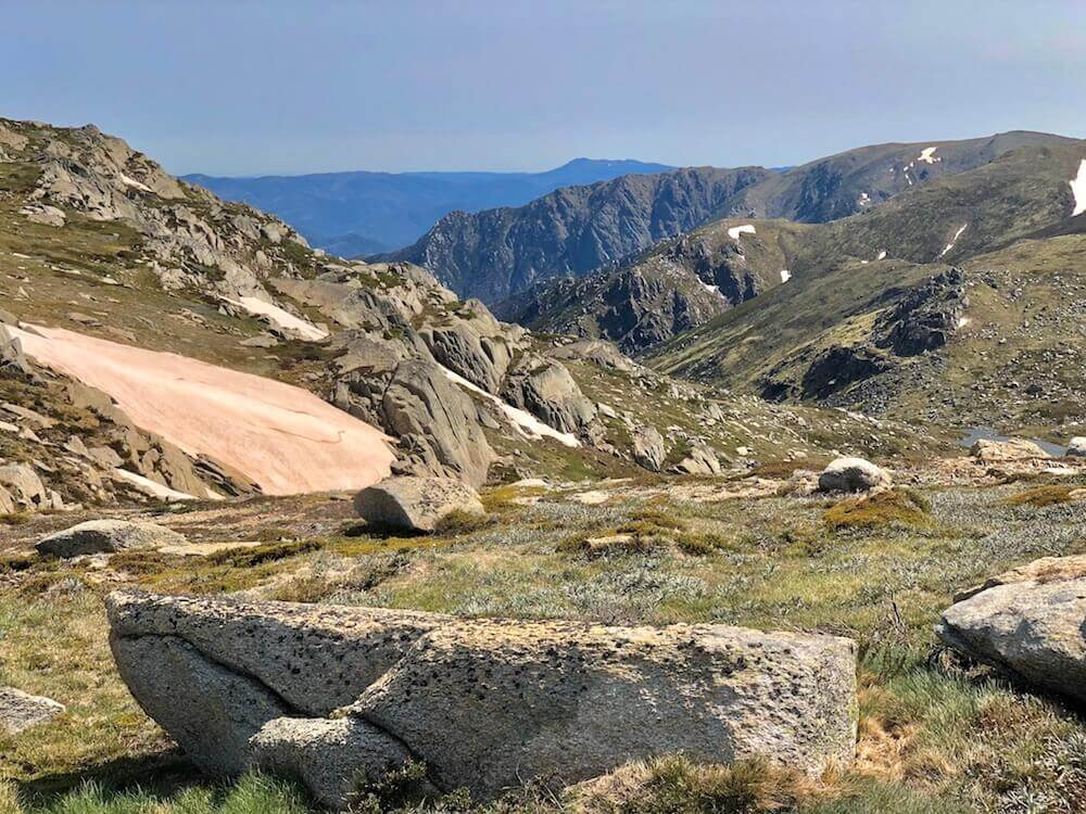 Kosciuszko National Park, New South Wales: More of the alpine landscape.