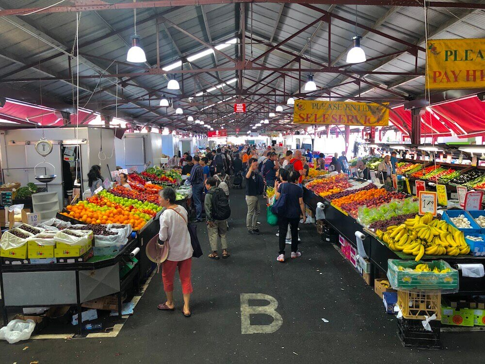 Melbourne, Victoria: Queen Victoria Market is the largest open-air market in the Southern Hemisphere (17 acres in size).