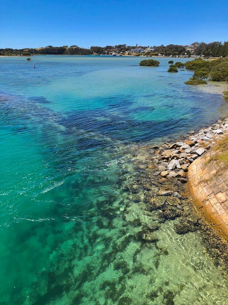 Narooma, New South Whales: The beautiful turquoise pristine water
