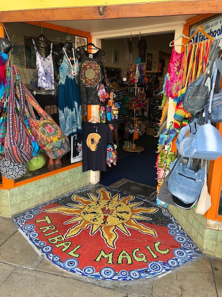 Nimbin, New South Wales: A small hippie village frozen in time. Peace and love to you to.