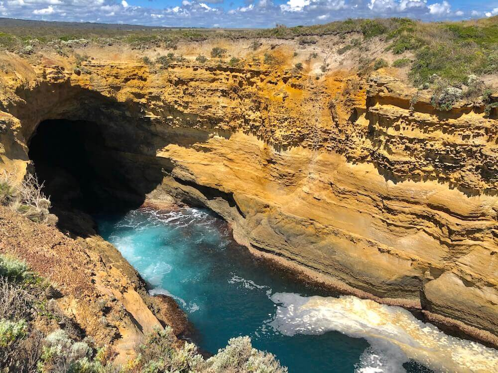 "Great Ocean Road, Victoria: The Thunder Cave... I understand why it is called the ""Great"" Ocean Road."