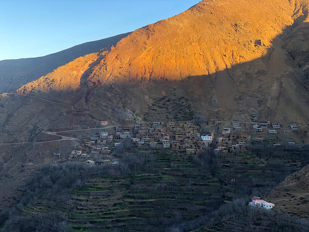 Amskere Village in the Atlas mountains